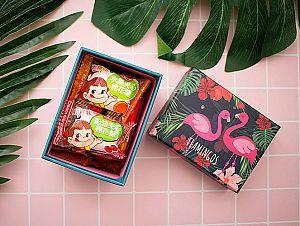 Подарочная коробка «Pink flamingo» маленькая