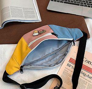 Поясная сумка «Fast food cat»