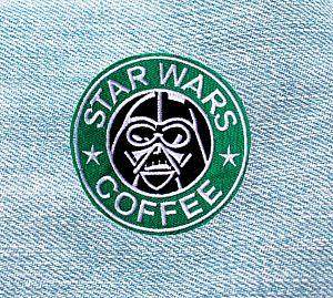 Нашивка «Star wars coffee»