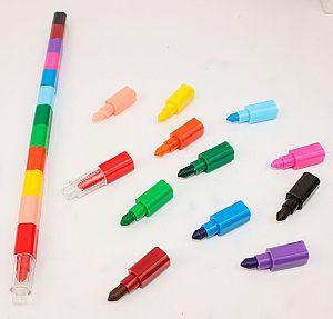 Восковой карандаш 12 в 1