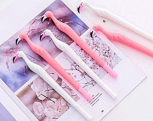 Ручка «Pink and white flamingo»